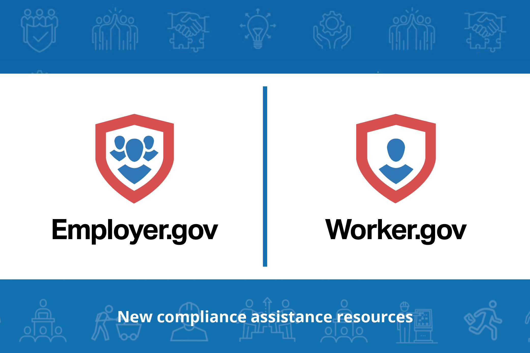 employer.gov and worker.gov logos