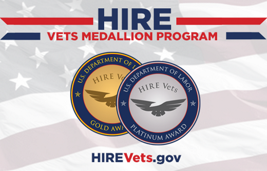HIRE Vets Medallion Program Graphic